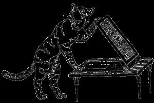 レトロイラスト 猫
