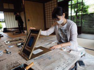 昔の印刷体験 福岡