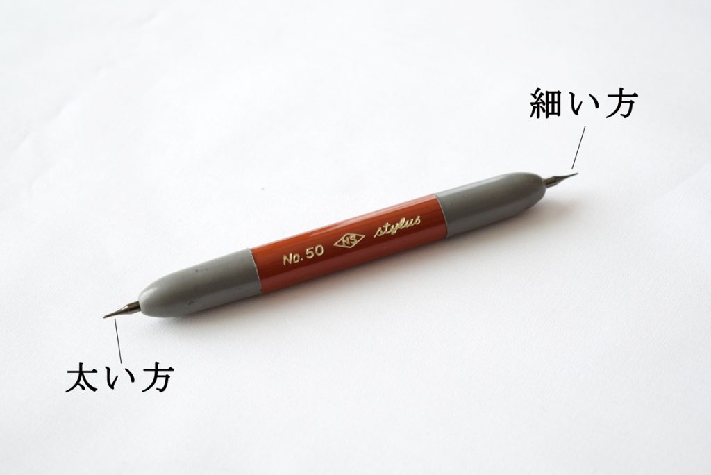 ガリ版テーパレス鉄筆